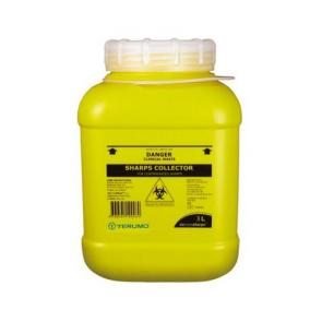 Terumo 3L Screw Top Lid Sharps Bin
