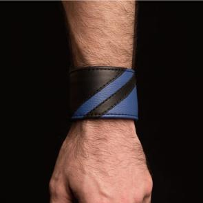 Chevron Leather Wristband