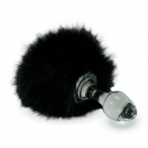 Crystal Delights Crystal Minx Fur Bunny Tail