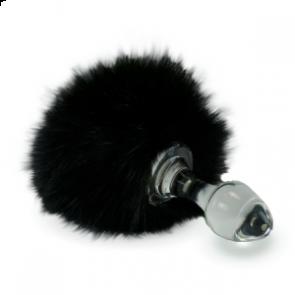 Crystal Delights Crystal Minx Fur Bunny Tail