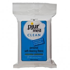 Pjur Med Clean Fleece Pack of 25