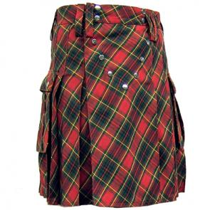 Heavy Drill Cotton Scottish Kilt