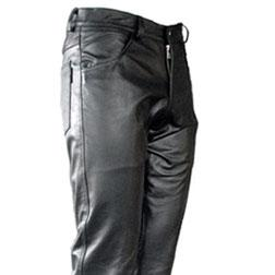 Leather fetish chaps au