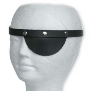 Black Leather Fetish Eye Patch