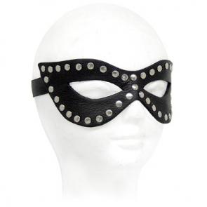 Studded Leather Cat Mask
