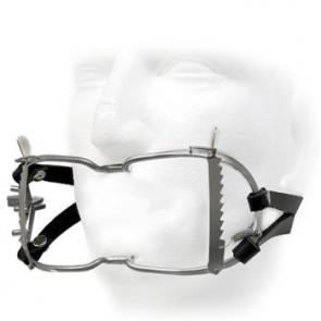 Whitehead Gag With Locking Leather Straps