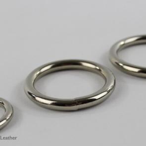 Metal O-Ring Strap-On Rings