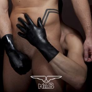 Mister B Thick Short Rubber Gloves