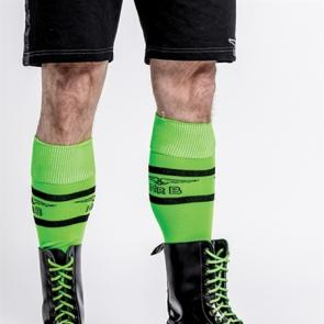 Mister B Shoe Laces Neon Green