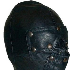 Leather Slave Hood by Mister B