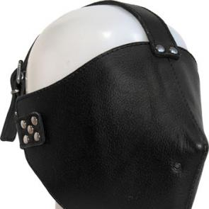 Closed Leather Face Mask