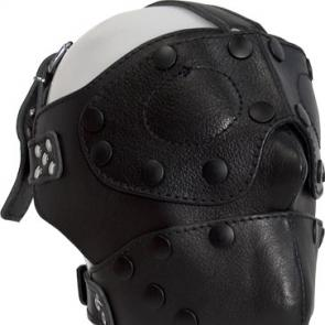 Detachable Leather Facemask