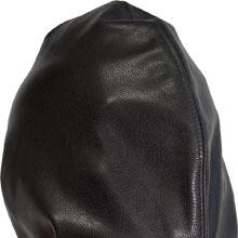 Extreme Leather Headbag With Collar - No Holes