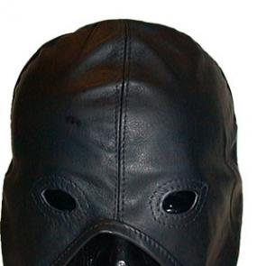 Leather Master Hood Half Laced by Mister B