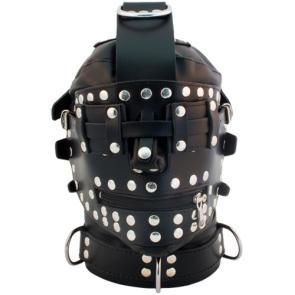 Mister B Extreme Leather Bondage Hood