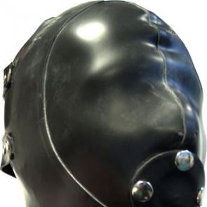 Mister B Extreme Rubber Hood With Removable Gag