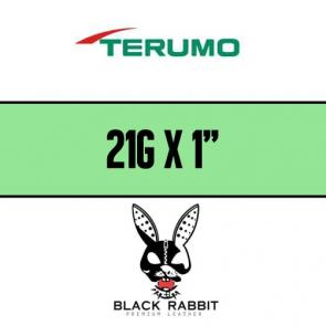 "TERUMO Hypodermic Needles 21G x 1"" (GREEN)"