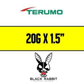 """TERUMO Hypodermic Needles 20G x 1.5"""" (YELLOW)"""