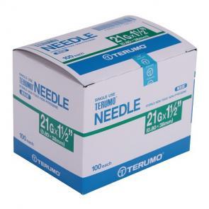 """TERUMO Hypodermic Needles 21G X 1.5"""""""