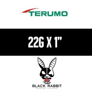 "TERUMO Hypodermic Needles 22G x 1"" (BLACK)"