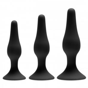 Apprentice 3 Piece Silicone Anal Trainer Set