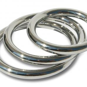 Seamless Metal Cock Ring