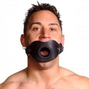 Lockable Open Mouth Feeder Gag