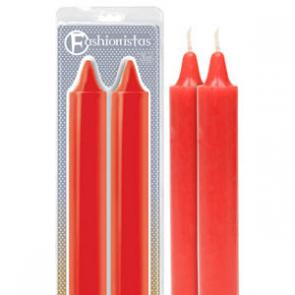 Fashionistas Pleasure Pain Drip Candles RED