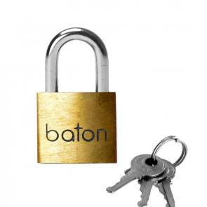 Baton Brass Padlock