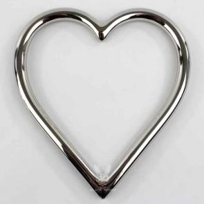 Stainless Steel Heart Suspension Ring