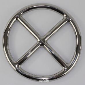 Stainless Steel Cross Shibari Ring