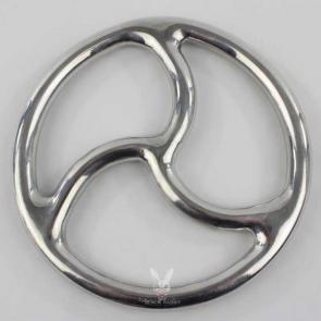 Solid Aluminium Alloy Triskelion Bondage Suspension Ring
