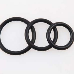 Wild Hide Silicone C-Rings Triple Pack
