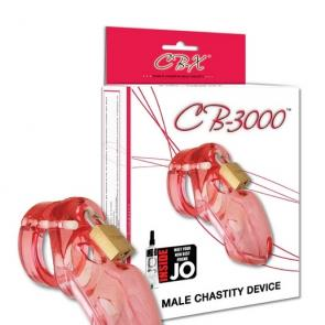 CB-3000 Pink Male Chastity Device
