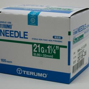 TERUMO Hypodermic Needles 21G X 1.25