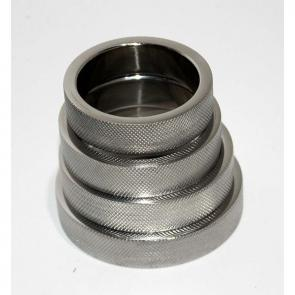 Knurled Surface Steel Cock Ring 15mm
