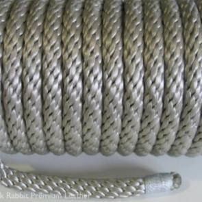 Silver Solid Braid Multifilament Polypropylene 8mm Bondage Rope