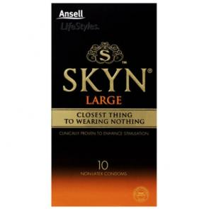 Ansell SKYN Large Non-Latex Condoms 10 Pack