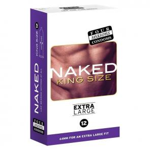 Four Seasons Naked 64mm King Size -12 Pack
