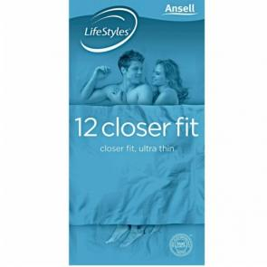 LifeStyles Healthcare Closer Fit 12pk Condoms