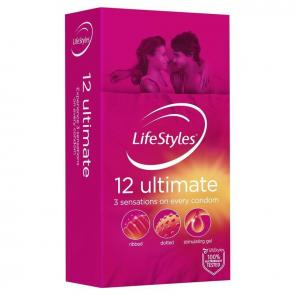 LifeStyles Ultimate 12 Pack Condoms