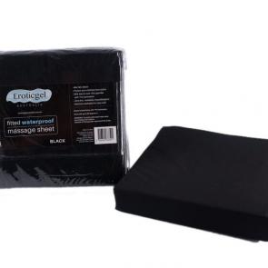 Black Waterproof Fitted Sheet