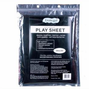 Black Waterproof Sex Play Sheet 2m x 2m