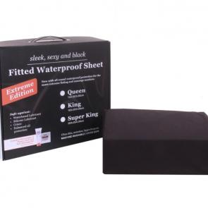 Extreme Black Waterproof Fitted Sheets