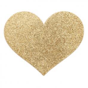 Flash Heart Reusable Glitter Pasties