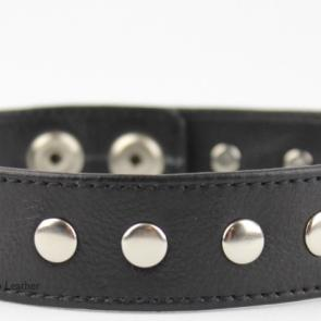 "1"" Wide Armband With Metal Rivets"