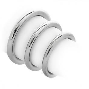 Smooth Metal Round Rings