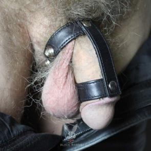 Two Way Leather Cock Ring