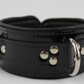 Deluxe Leather D-Ring Collar