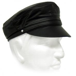 Leather Brando Cap